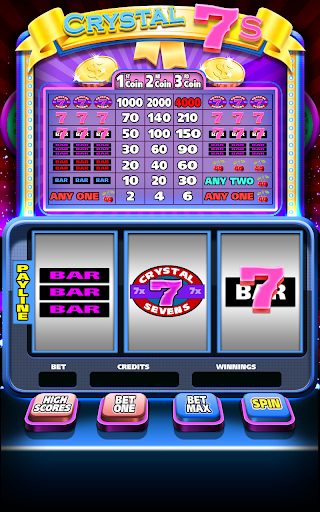 Crystal 7s Slot Machine