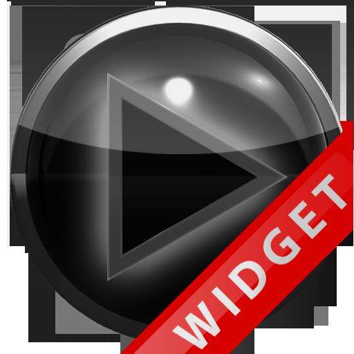Poweramp Widget Grey Glow