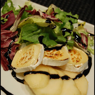 Pear and Goat Cheese Salad.