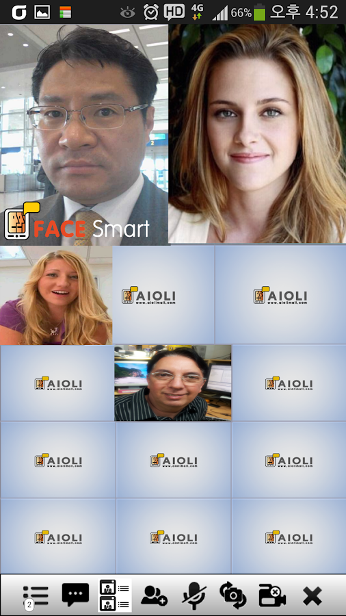 HD MobileConference Face-Smart- screenshot