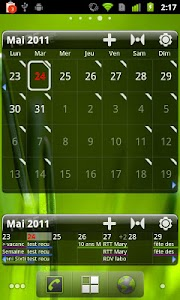 Pure Grid calendar widget v2.6.9