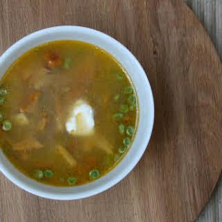 Farmer's Mushrooms Soup.