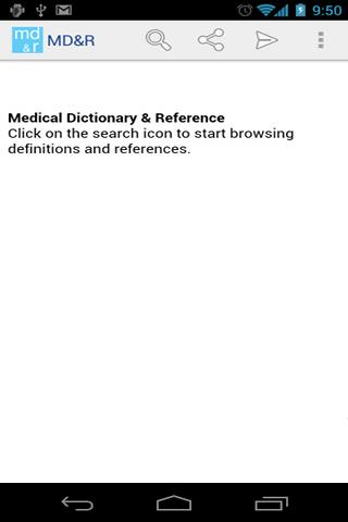Medical Dictionary - screenshot