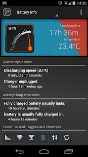 Gauge Battery Widget 2015- screenshot thumbnail