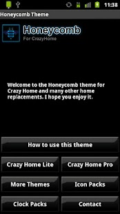 Honeycomb Theme - screenshot thumbnail