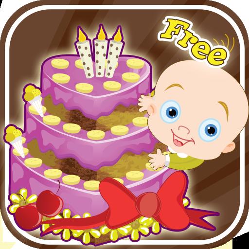 宝宝蛋糕制作 休閒 LOGO-玩APPs