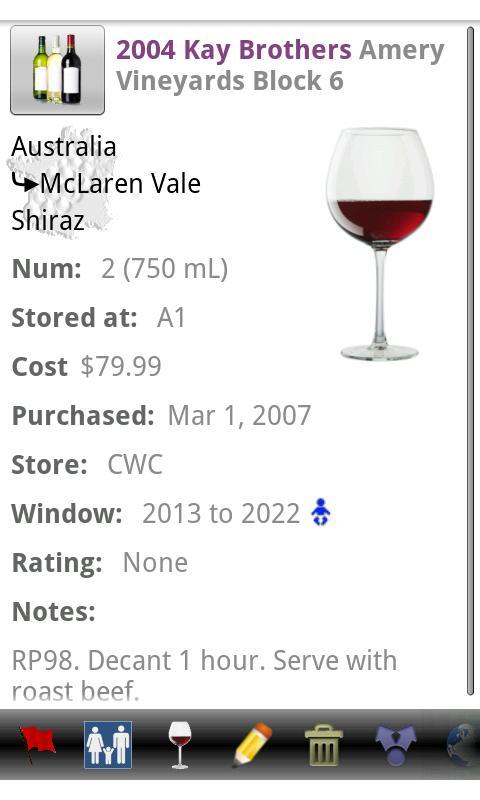 Wine Tracker Pro- screenshot