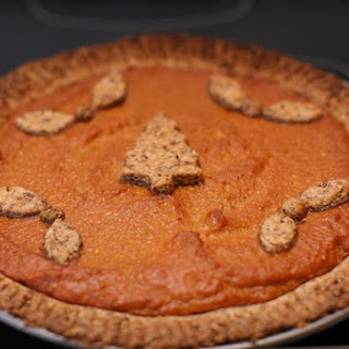 Vegan Pumpkin Pecan Pie Recipe