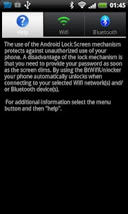 Bluetooth and  Wifi Unlocker F - screenshot thumbnail