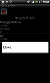 Root # All Data2SD card. Screenshot 5