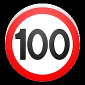 0-100 speedometer + stopwatch