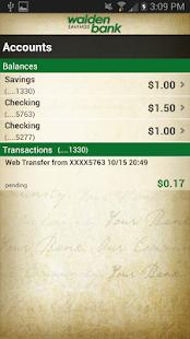 Walden Savings Bank - screenshot thumbnail