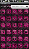 Screenshot of THEME - Pink Cheetah Full