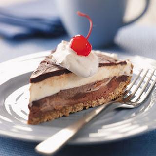 Black-Bottom Ice Cream Pie.