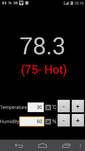 温度と湿度から不快指数