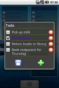 Free Download To-Do List Widget APK for Samsung
