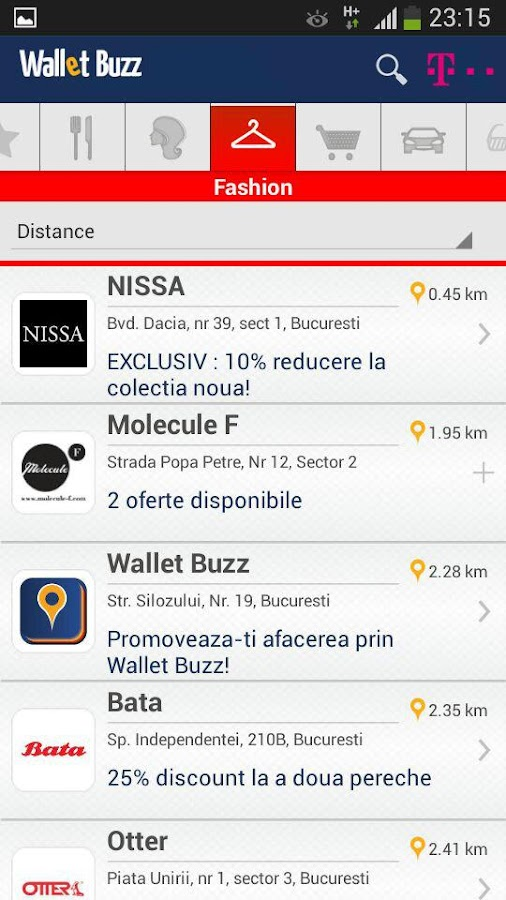 Wallet Buzz- screenshot