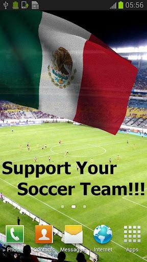3Dメキシコ国旗国歌