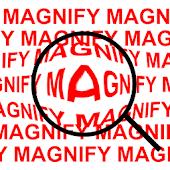 Virtual Magnify Lens