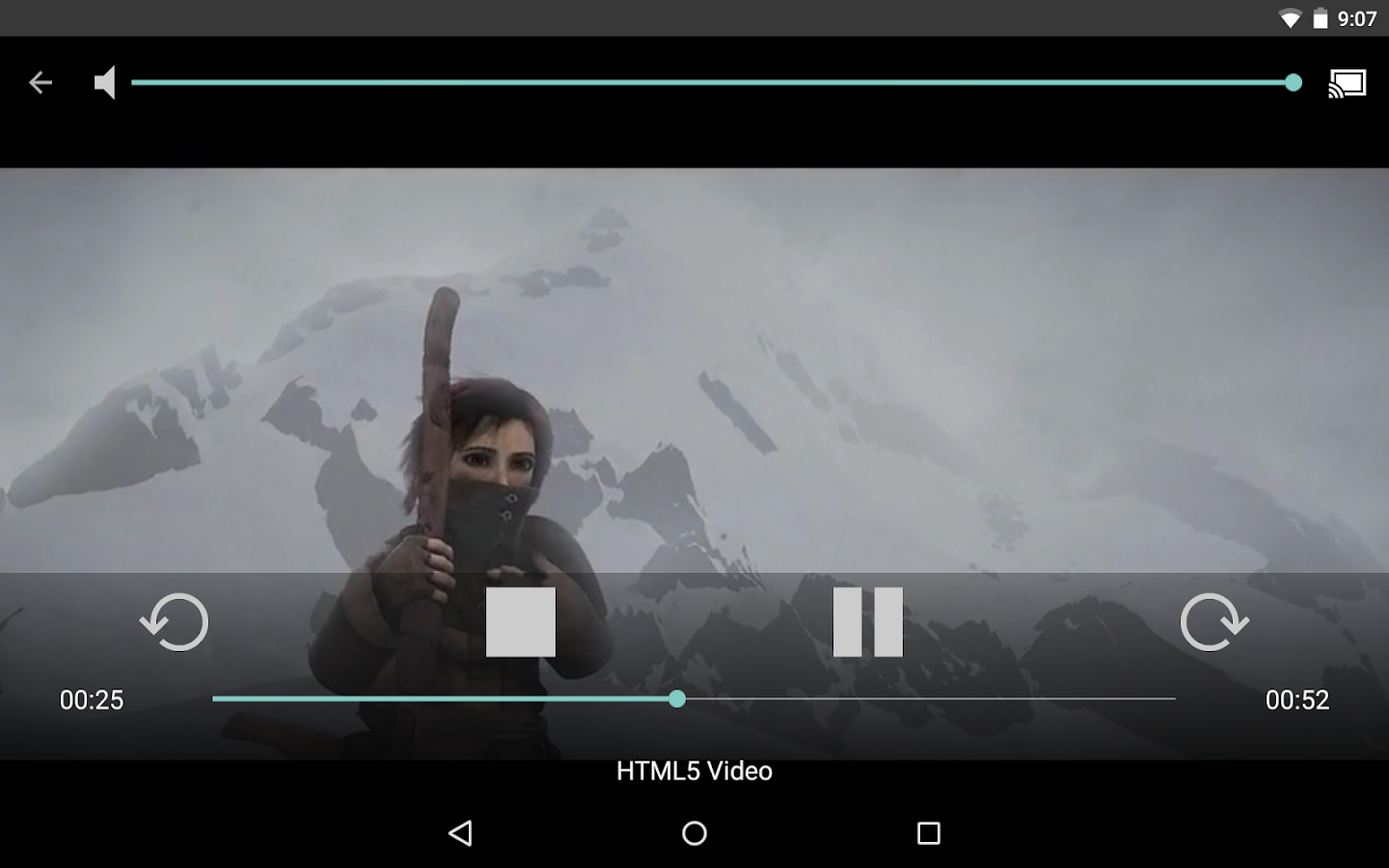 Web Video Caster (Chromecast) - screenshot