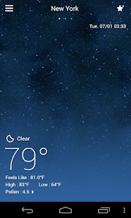 DEFAULT DYNAMIC 3.0 GO WEATHER- screenshot thumbnail