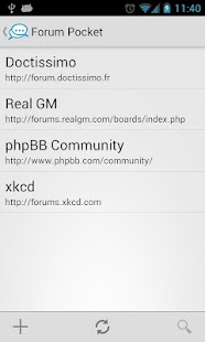 Forum Pocket - screenshot thumbnail