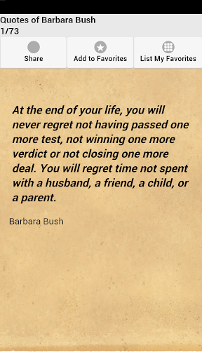 Quotes of Barbara Bush