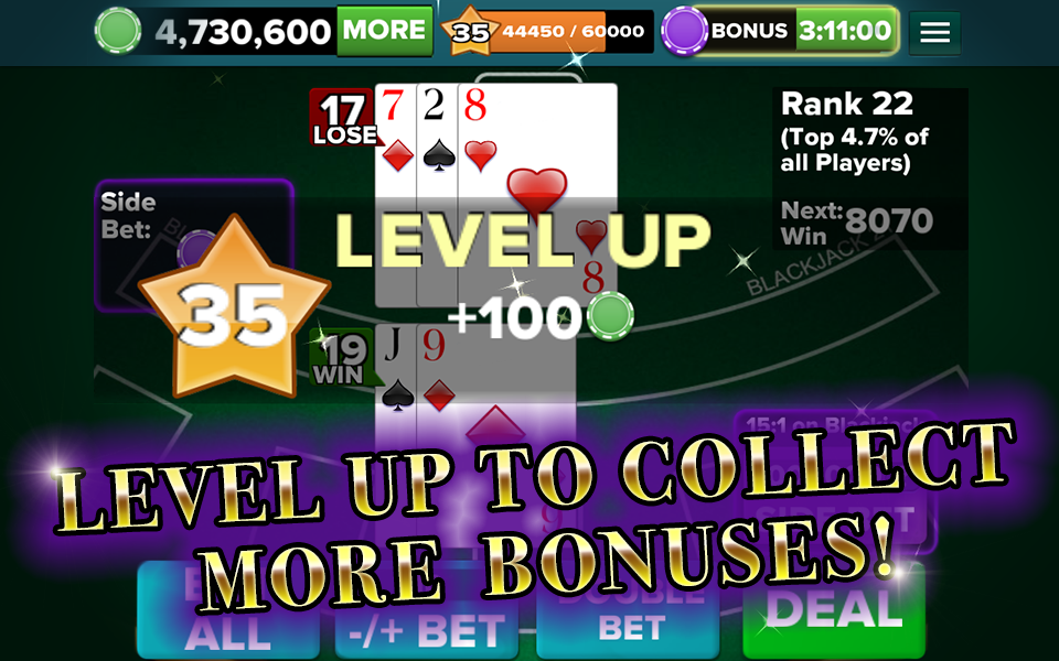 BlackJack 21 FREE - screenshot