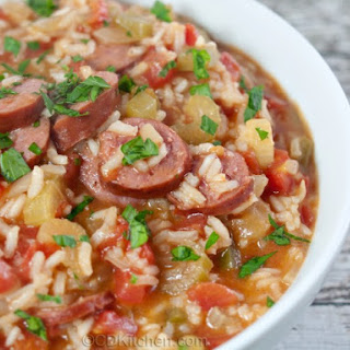 Sausage And Rice Jambalaya