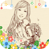 MomentCam Sticker Frame Share