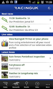 Racing UK - Watch Live Races - screenshot thumbnail
