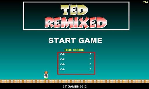 テッドはリミックス
