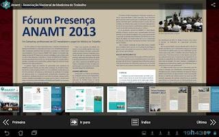 Screenshot of Jornal da Anamt