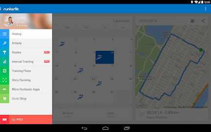 Runtastic Running & Fitness Screenshot 6