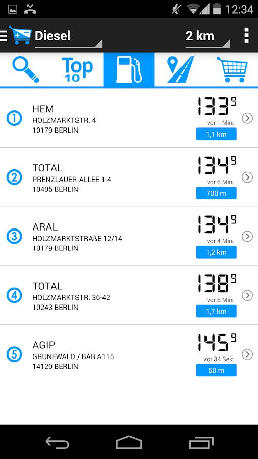 Einkaufen, Tanken, Geld sparen - screenshot