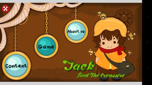 Jack find the treasure
