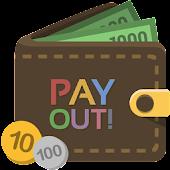 支出管理のみで簡単家計簿-PAYOUT!(ペイアウト)