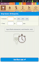 Screenshot of IV Drip Helper