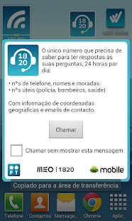 Widget 1820 - Informações- screenshot thumbnail