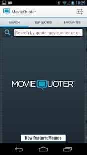 MovieQuoter - screenshot thumbnail