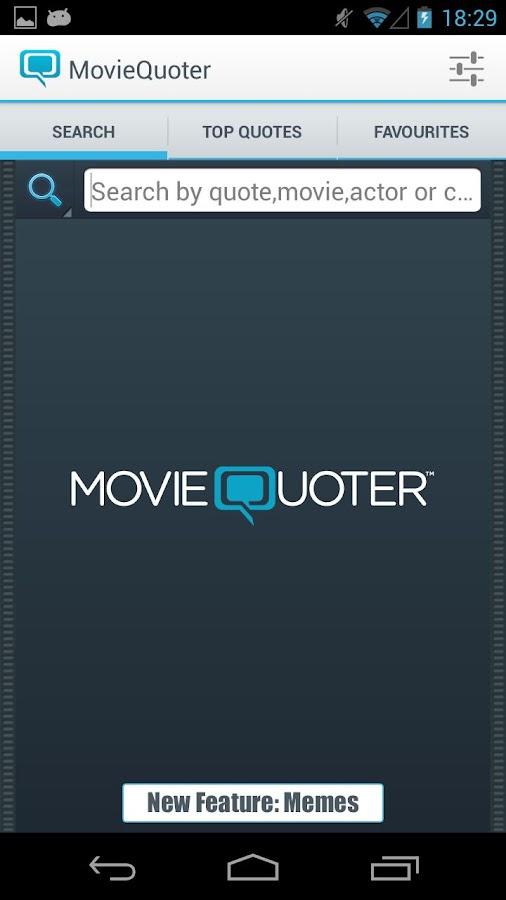 MovieQuoter - screenshot