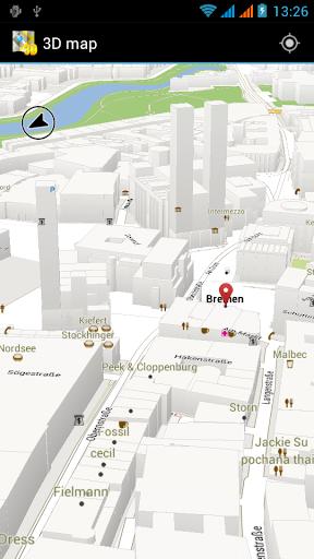 3D 地图 瑞典