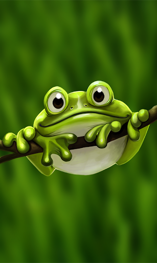 Cute Froggy - Live Wallpaper
