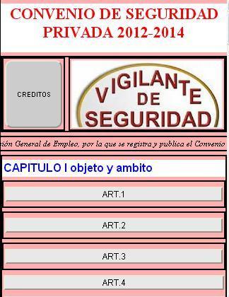 【免費商業App】Convenio de seguridad privada-APP點子