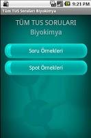 Screenshot of Tüm TUS Soruları Biyokimya