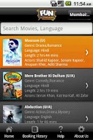 Screenshot of Fun Cinemas