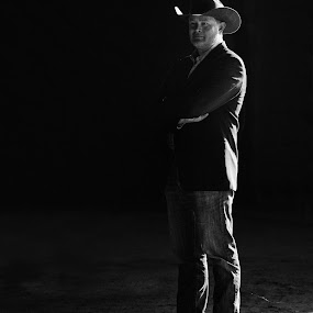 Cowboy In A Suit by Hans Watson - People Portraits of Men (  )