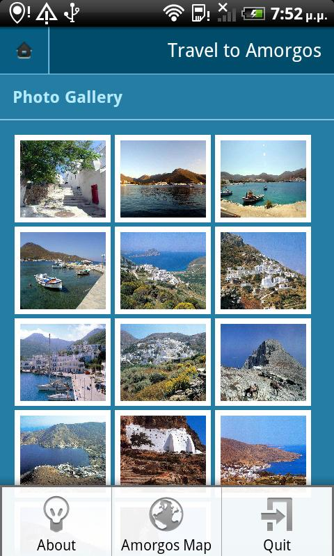 Amorgos- screenshot