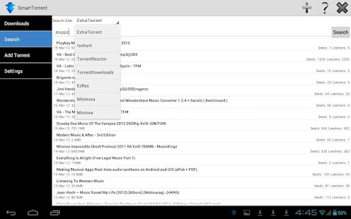 SmartTorrent - Torrent Client - screenshot thumbnail