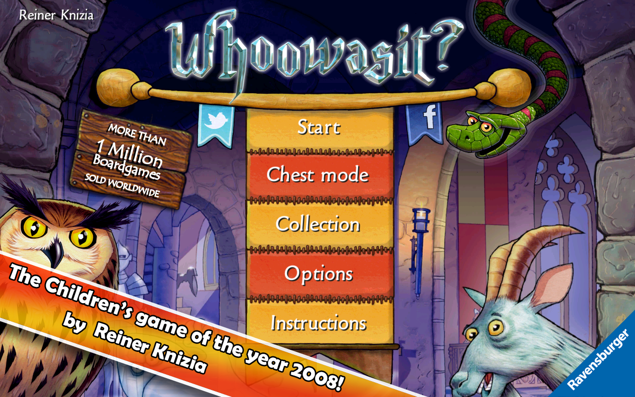 Whoowasit? - Best kids game!- screenshot